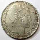 Photo numismatique  Monnaies Monnaies Françaises Troisième République 20 Francs 20 francs type Turin, 1938, G.852 TTB+
