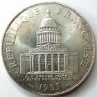 Photo numismatique  Monnaies Monnaies Françaises Cinquième république 100 Francs 100 Francs Panthéon 1985, G.898 SUPERBE