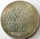Photo numismatique  Monnaies Monnaies Françaises Cinquième république 100 Francs 100 Francs panthéon 1989, G.898 SUPERBE
