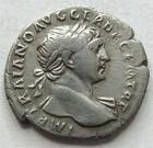 Photo numismatique  Monnaies Empire Romain TRAJAN, TRAJANUS, TRAIAN, TRAIANO Denier, denar, denario, denarius TRAIANUS, TRAJAN, denier, Rome en 109, DAC CAP la dacie captive, 2.20 grammes, RIC.99 TTB R!