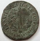 Photo numismatique  Monnaies Monnaies de la Révolution Constitution 3 Deniers Constitution, Louis XVI, 3 deniers Français, 1792 BB Strasbourg, G.4 B