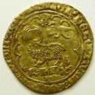 Photo numismatique  Monnaies Monnaies royales en or Charles VI Agnel CHARLES VI, Agnel d'or, 2ème émission 1417, Point 4ème Montpellier, 2.51 grammes, DY.372B TB+