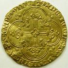 Photo numismatique  Monnaies Monnaies royales en or Jean le Bon Franc à cheval JEAN II le Bon, Franc à cheval, 1360, 3.81 grammes, DY.294 TTB+