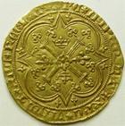 Photo numismatique  Monnaies Monnaies royales en or Charles V Franc à pied CHARLES V le sage, Franc à pied, 1365, 3.77 grammes, DY.360 Presque SUPERBE