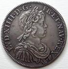 Photo numismatique  Monnaies Monnaies en dépôt vente Louis XIV Médaille 1/2 Ecu à la mèche courte LOUIS XIV, Demi Ecu à la mèche courte, 1644 A Paris, SUPERBE