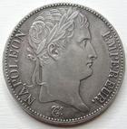 Photo numismatique  Monnaies Monnaies en dépôt vente 1er Empire 5 Francs NAPOLEON Ier, 5 francs 1812 A Paris, SUPERBE