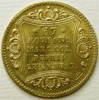Photo numismatique  Monnaies Monnaies en dépôt vente Monnaie etrangère en or Hamburg, Hambourg HAMBURG, HAMBOURG, Ducat 1851, SUPERBE+