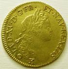 Photo numismatique  Monnaies Monnaies royales en or Louis XV Louis d'or à la croix du Saint-Esprit LOUIS XV, Louis d'or à la croix du Saint-Esprit, 1718 K Bordeaux, SUPERBE