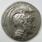 Photo numismatique  Monnaies Monnaies volées Monnaies Grecques Tétradrachme ATHENE, Tétradrachme nouveau style,