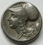 Photo numismatique  Monnaies Monnaies grecques Corinthe Statère ARCANIE, CORINTHE, statère 350.270 avant Jc, 8.20 grammes, SNG.COP.311 TTB