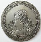Photo numismatique  Monnaies M�dailles Louis XIII M�daille en argent LOUIS XIII et MARIE DE MEDICIS r�gente, m�daille en argent, 1614, Diam�tre 44 mm, 34.43 grammes, SUPERBE
