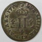 Photo numismatique  Monnaies Monnaies Royales Louis XIV Médaille Pièce de XXX deniers aux 2 L couronnés LOUIS XIV, Pièce de XXX deniers aux 2 L, 1710 AA Metz, G.102 TTB