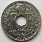 Photo numismatique  Monnaies Monnaies Françaises Troisième République 25 centimes Lindauer 25 centimes Lindauer 1917 Cmes souligné, G.379 SUPERBE+ Rare!!
