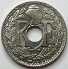 Photo numismatique  Monnaies Monnaies Françaises Troisième République 25 centimes Lindauer 25 centimes Lindauer 1916 Cmes souligné, G.379 SUPERBE à FDC