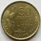 Photo numismatique  Monnaies Monnaies Françaises 4ème république 50 Francs 50 Francs Guiraud 1953 B, G.880 SUPERBE