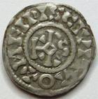 Photo numismatique  Monnaies Monnaies F�odales Champagne Denier anonymes CHAMPAGNE, Meaux et Troyes, denier anonyme, X/Xi�me si�cle, Melpis civitao, trecasi, 1.23 Grms, PA.6036 TTB+ R!