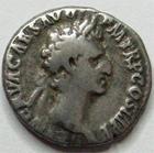 Photo numismatique  Monnaies Empire Romain NERVA Denier, denar, denario, denarius NERVA, denier, Rome en 97, Salus Aug, 3.45 grammes, RIC.20 TB+