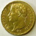 Photo numismatique  Monnaies Monnaies Française en or 1er Empire 20 Francs or NAPOLEON Ier, 20 francs or 1811 A Paris, G.1025 SUPERBE!!