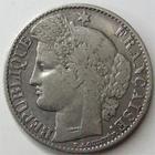 Photo numismatique  Monnaies Monnaies Fran�aises Troisi�me R�publique 50 Centimes 50 centimes type C�r�s, 1894 A, G.419a TTB