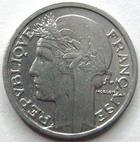 Photo numismatique  Monnaies Monnaies Françaises Gouvernement Provisoire 50 Centimes 50 centimes Morlon 1945 B, G.426a SUPERBE à FDC