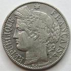 Photo numismatique  Monnaies Monnaies Fran�aises Troisi�me R�publique 1 Franc 1 franc type C�r�s 1888 A Paris, G.465a TTB