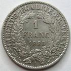 Photo numismatique  Monnaies Monnaies Françaises Troisième République 1 Franc 1 franc type Cérès 1888 A Paris, G.465a TTB