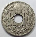 Photo numismatique  Monnaies Monnaies en dépôt vente Troisième République 5 Centimes 5 centimes Lindauer 1920 petit module, G.170 TTB+