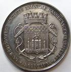 Photo numismatique  Monnaies Jetons Jeton d'assurance Assurances Maritimes BORDEAUX, LA MERIDIONALE, jeton rond en argent, poinçon Abeille, gravé par B.Falot, gail.477 SUPERBE Rare!