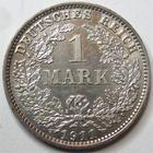 Photo numismatique  Monnaies Allemagne après 1871 Allemagne, Deutschland, Empire, Kaisereich 1 Mark 1 Mark 1911 E, J.17 SUPERBE