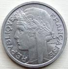 Photo numismatique  Monnaies Monnaies Françaises 4ème république 2 Francs 2 francs Morlon 1948, Aluminium, G.538b SUPERBE