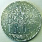 Photo numismatique  Monnaies Monnaies Fran�aises Cinqui�me R�publique 100 francs Panth�on 100 francs Panth�on 1986, G.898 SUPERBE � FDC