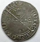 Photo numismatique  Monnaies Monnaies/médailles de Lorraine Raoul de Coucy Gros Raoul de Coucy, 1387.1415, Gros, Flon.4 TB