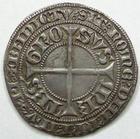 Photo numismatique  Monnaies Monnaies/médailles de Lorraine Thierry V de Boppart Gros Thierry V de Boppart, 1365.1383, Gros, Flon.6 TTB+