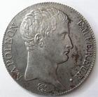 Photo numismatique  Monnaies Monnaies Françaises 1er Empire 5 Francs NAPOLEON Ier, 5 francs 1806 L Bayonne, 24.81 grammes, belle patine!, G.581 SUPERBE