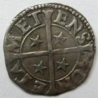 Photo numismatique  Monnaies Monnaies/médailles de Lorraine Cité de Metz Bugne ou Tiercelle CITE DE METZ, 14/15ème siècle, bugne ou tiercelle,0.97 grammes, Flon.10 variante TTB