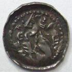 Photo numismatique  Monnaies Monnaies/médailles de Lorraine Jean Ier d'Apremont Denier, denar, denario, denarius JEAN Ier d'Apremont, 1224.1239, Denier, 0.68 grammes, Flon.5 Bon TTB