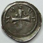 Photo numismatique  Monnaies Monnaies/médailles de Lorraine Jean Ier d'Apremont Denier, denar, denario, denarius JEAN Ier d'Apremont, denier 1224.1239, 0.66 grammes, flon.6/9 TB à TTB
