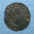 Photo numismatique  Monnaies Monnaies Féodales Lorraine Liard LORRAINE METZ, liard 1660, Boudeau 1677 TTB