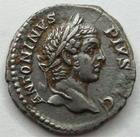 Photo numismatique  Monnaies Empire Romain CARACALLA Denier, denar, denario, denarius CARACALLA, Denier, Rome en 208, Mars à droite, 2.95 grammes, RIC.100 TTB