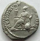Photo numismatique  Monnaies Empire Romain SEPTIME SEVERE, SEPTIMUS SEVERUS, SEPTIMO SEVERO Denier, denar, denario, denarius SEPTIMIUS SEVERUS, SEPTIME SEVERE, denier, rome en 207, Restitutor urbis, 2.91 grammes, RIC.288 TTB+