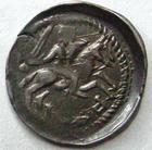 Photo numismatique  Monnaies Monnaies/médailles de Lorraine Ferri III Denier, denar, denario, denarius FERRI III, 1251.1303, Denier, épée, Lis et croix, 0.66 grammes, Flon.14/16 TTB+