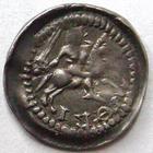 Photo numismatique  Monnaies Monnaies/médailles de Lorraine Ferri III Denier, denar, denario, denarius FERRI III, 1251.1303, Denier, épée, Lis et croix, 0.67 grammes, Flon.14/16 TTB/TB