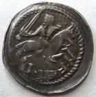 Photo numismatique  Monnaies Monnaies/médailles de Lorraine Ferri III Denier, denar, denario, denarius FERRI III, 1251.1303, Denier, épée, Lis et croix, 0.70 grammes, Flon.14/16 TTB+/TTB