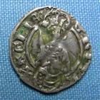 Photo numismatique  Monnaies Monnaies Féodales Aquitaine Hardi AQUITAINE, RICHARD II 1387.1390, hardi, Poey d'avant 3105 TB+