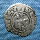 Photo numismatique  Monnaies Monnaies Féodales Anjou Denier, denar, denario, denarius ANJOU, FOULQUES V, 1109.1129, denier, Boudeau 153 variante, TB+