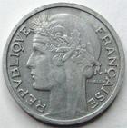 Photo numismatique  Monnaies Monnaies Françaises 4ème république 50 Centimes 50 centimes Morlon 1947 B, G.426b TTB