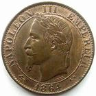 Photo numismatique  Monnaies Monnaies Fran�aises Second Empire 5 Centimes NAPOLEON III, 5 centimes laur� 1864 K Bordeaux, G.155 SUPERBE+