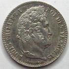 Photo numismatique  Monnaies Monnaies Fran�aises Louis Philippe 1/4 de Franc LOUIS PHILIPPE, 1/4 de franc 1840 B Rouen, beau brillant! G.355 petites t�ches sinon SUPERBE+