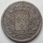 Photo numismatique  Monnaies Monnaies Fran�aises Louis XVIII 1/2 Franc LOUIS XVIII, 1/2 franc 1817 K Bordeaux, G.401 TTB