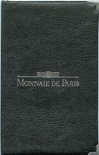 Photo numismatique  Monnaies Monnaies Françaises Cinquième république Boite FDC, mint sets, kursmunzensatze Série FDC 1989, du 1 centime au 100 francs, avec la 10 francs Montesquieu! FDC Rare!